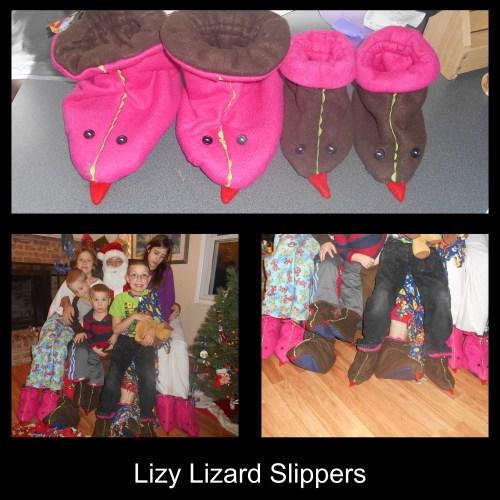Lizy Lizard Slippers