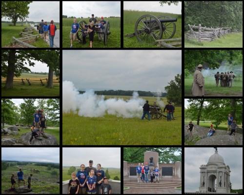 Gettysburg Collage