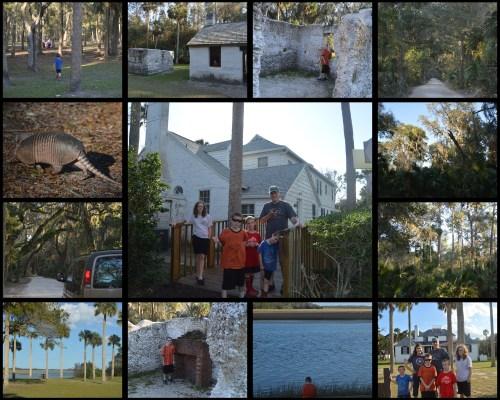 Kingsley Plantation Collage