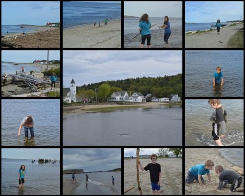 Maine Popham Collage