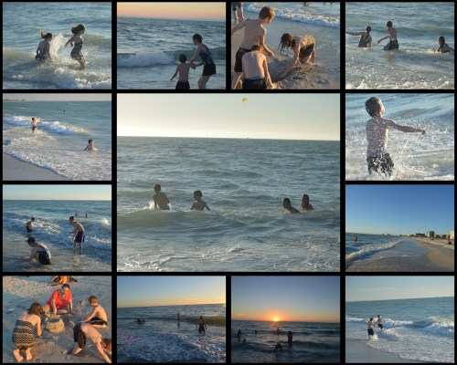 St Pete Beach Collage