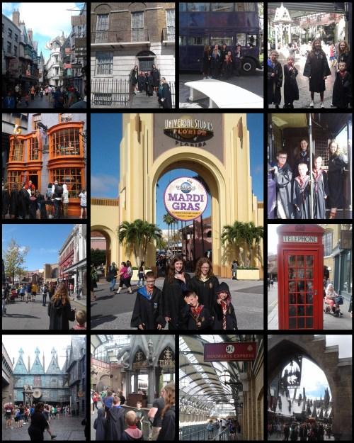 Universal Studios 1 Collage