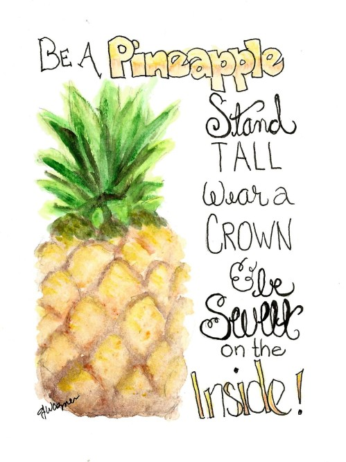 Be a Pinapple