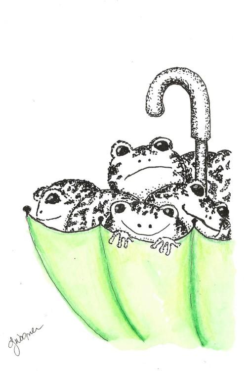 Umbrella Frogs